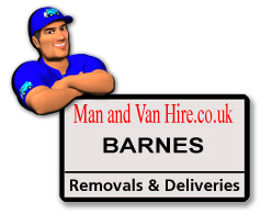 Van man can be found in Barnes